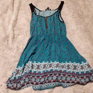 Cute patterned dress